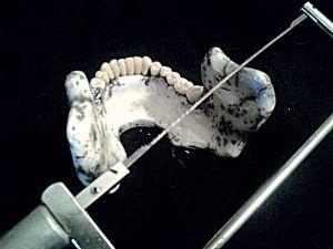 Scie à denture